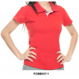 camisa polo bordada