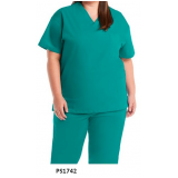 uniforme social plus size